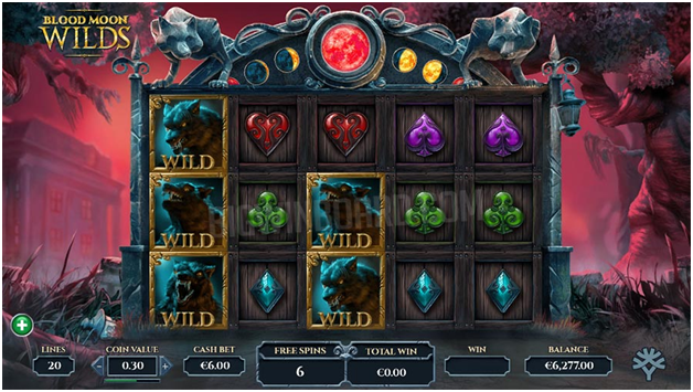 Blood Moon – Game features