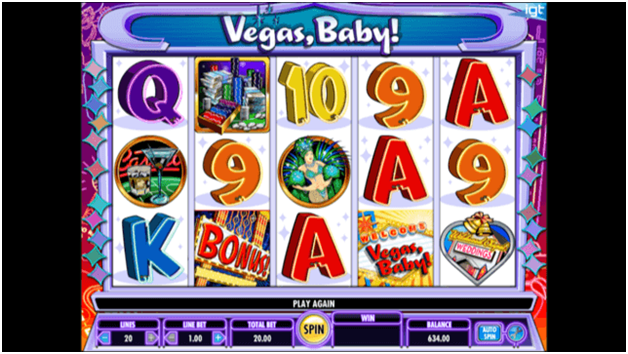 Vegas baby pokies