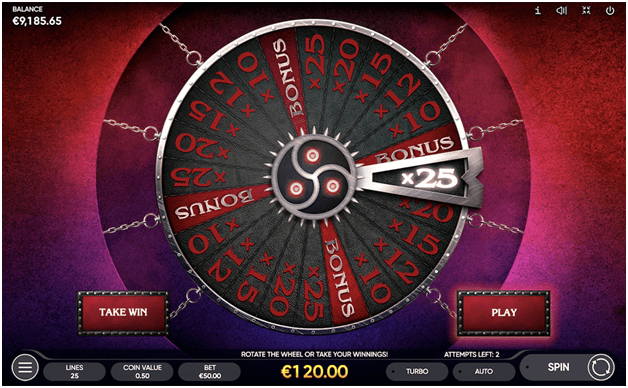 The Taboo Slot Game Features