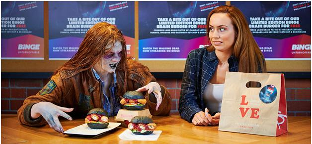 Where to order Binge Brain Burger