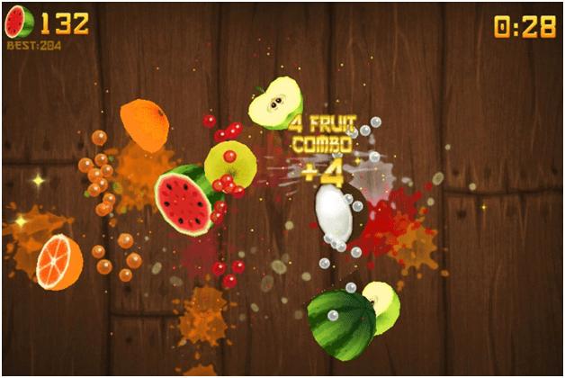 Fruit Ninja video game