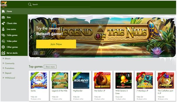 7 Reels Casino- Pokies games