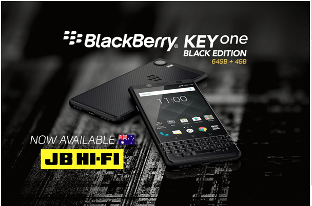 Blackberry DTEK 50 phone where to buy in Australia