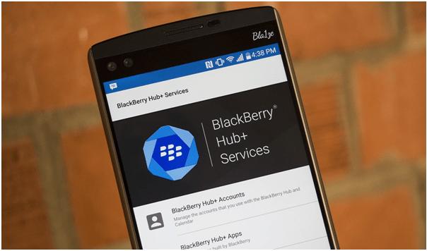 Blackberry hub updates 2019
