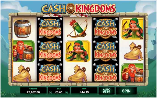 Cash of Kingdoms Game Symbols