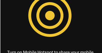 How to setup and manage a Mobile Hotspot connection on the BlackBerry