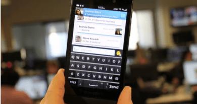 How to use WhatsApp alternative in BlackBerry