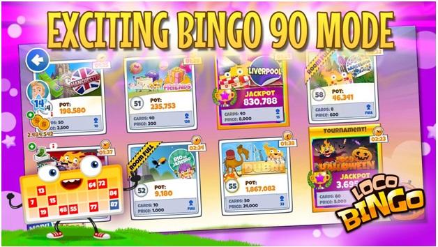 Loco Bingo- Bingo 90