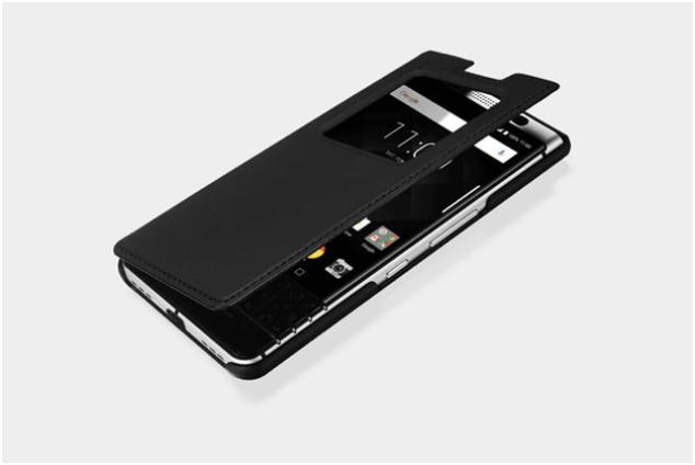Official BlackBerry KeyOne Smart Flip Case