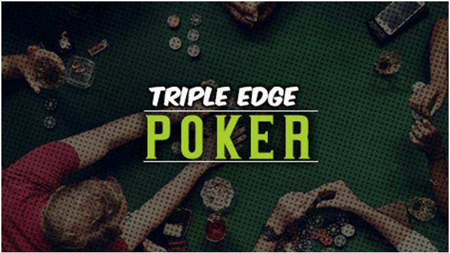 Triple edge poker game