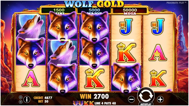 Wolf Gold- Free Spins