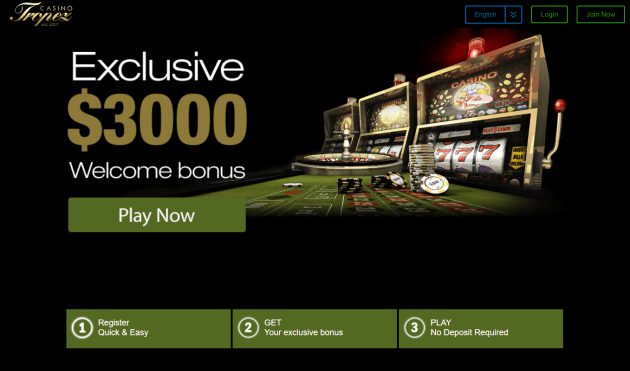 Casino Tropez latest offer