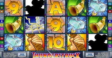 Play Thunderstruck Pokies on your iPad