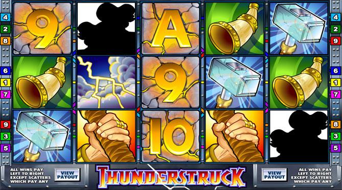 Play Thunderstruck Pokies on your iPad