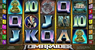 Tomb Raider 5 Reels Pokies