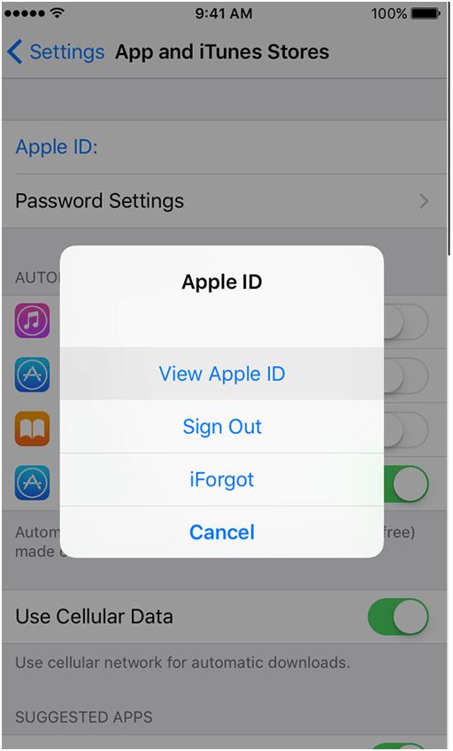 Apple ID iTunes