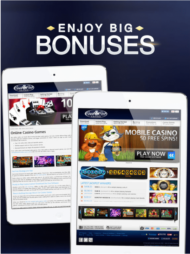 Cool Cat Casino for iPad