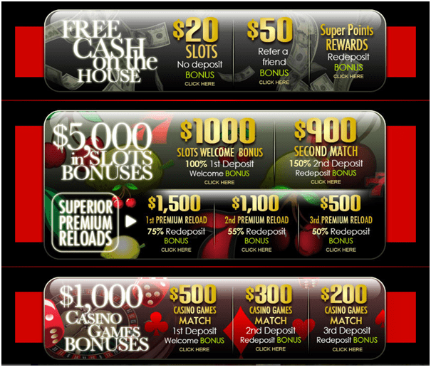 Superior casino bonuses for iPad