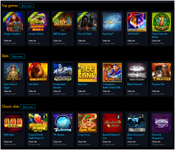 Winward casino games for iPad