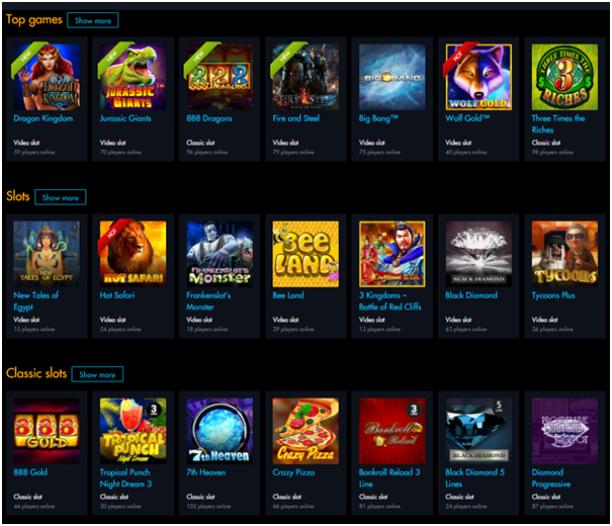 Winward casino games for iPad