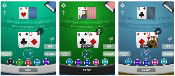 Blackjack game apps