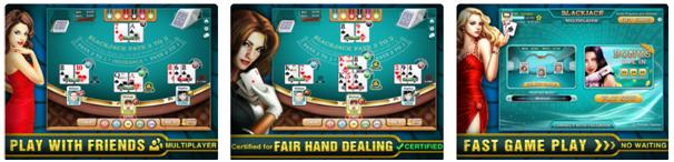 Blackjack online app