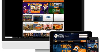 Emu Casino iPad