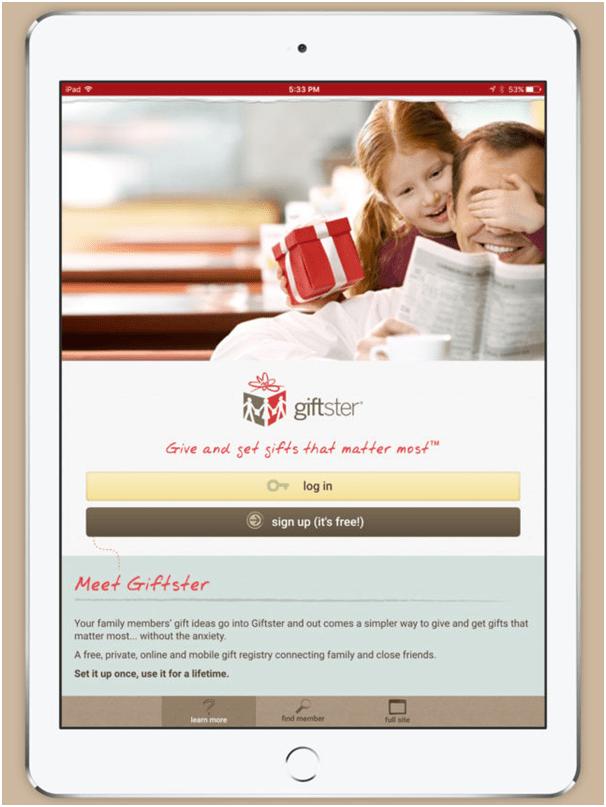 Giftster App