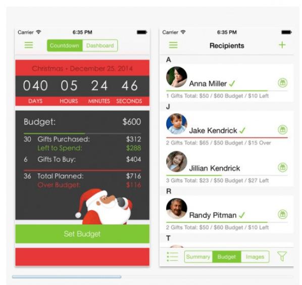 Santas Bag app