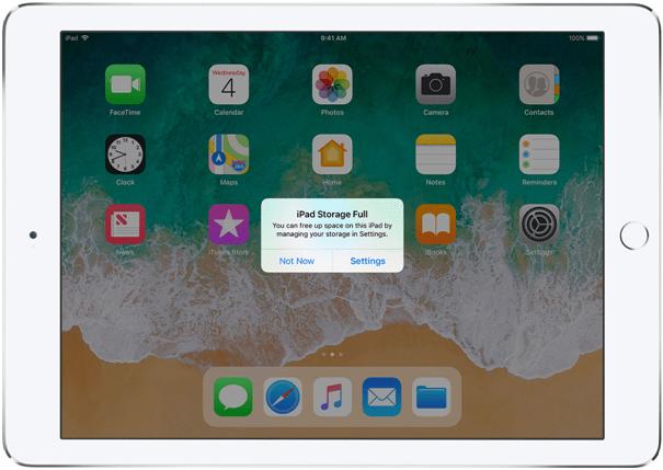 External storage on iPad