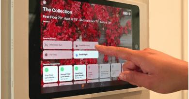 Home Hub on iPad