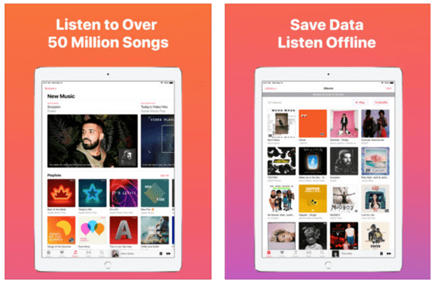 Apple music App subscription rates