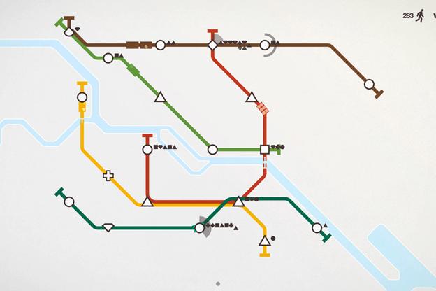 Mini Metro game