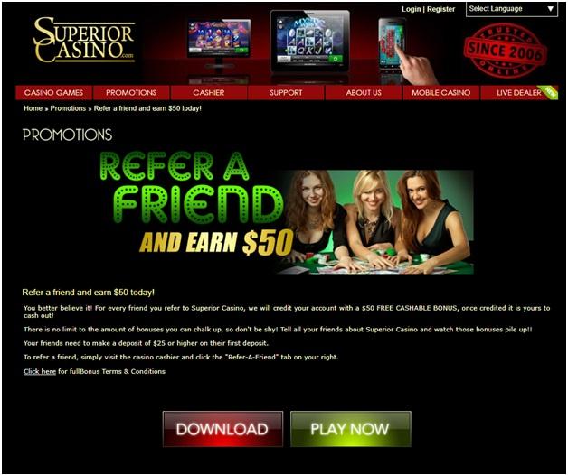 $50 Free Refer a Friend Bonus