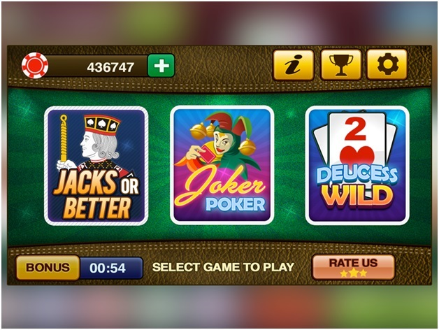 iPad Video Poker Apps