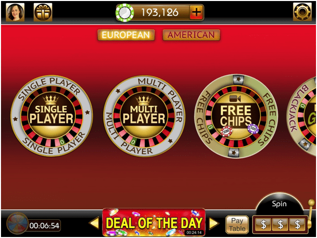 Roulette 3D Casino Style