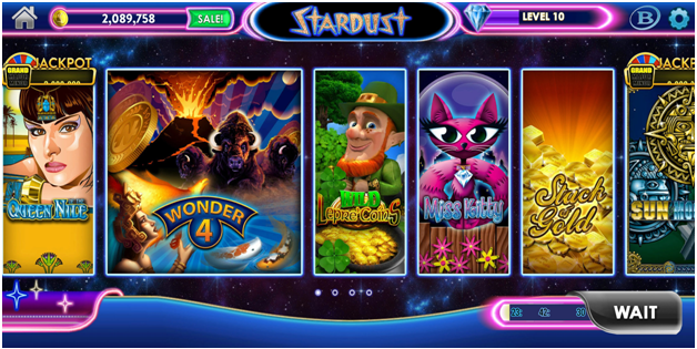 How to play Stardust the new social casino and earn rewards?