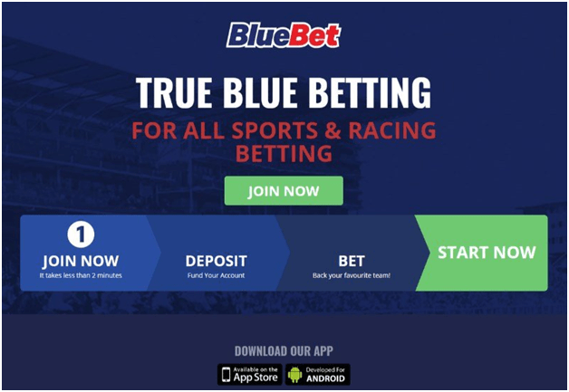Bluebet Bookies Apps in Australia to bet on sports and races
