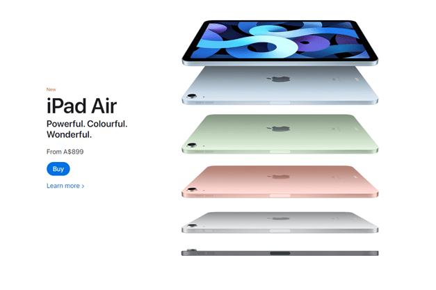 iPad Air Full specs