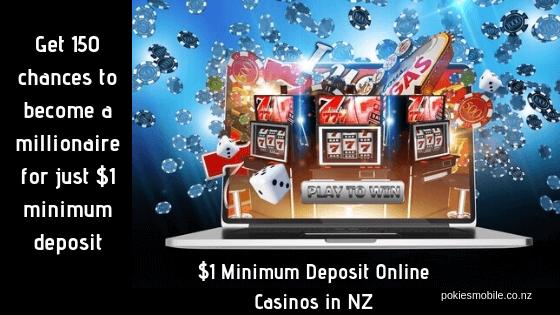 1 Minimum Deposit Online Casinos In Nz To Play Pokies And Table Games