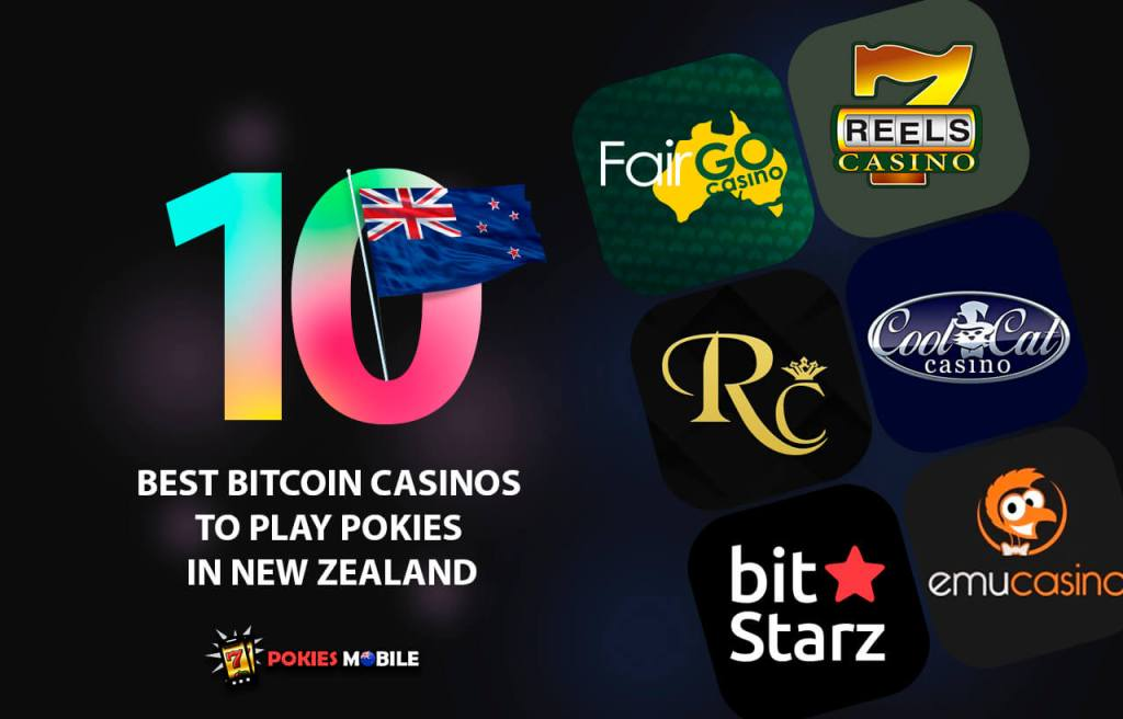10 Best Bitcoin Casinos to Play Pokies in New Zealand