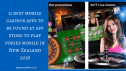 11 best mobile casinos apps to be found at app store to play pokies mobile in New Zealand 2018
