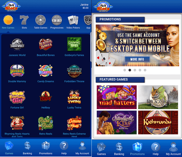 All slots casino app NZ