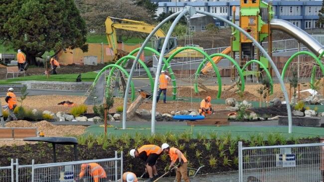 Avalon Park Playground, Lower Hutt