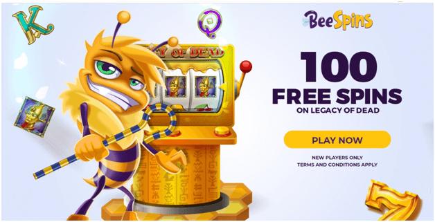 Bee spins- New NZ online Casino