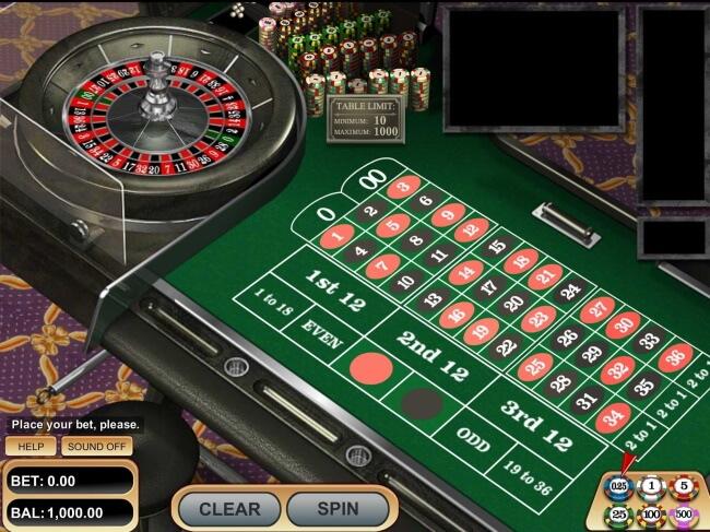 BetSoft VIP roulette - High Limit Roulette Tables