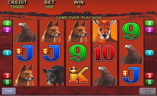 Big Red among the top 4 pokies to play free in 2019