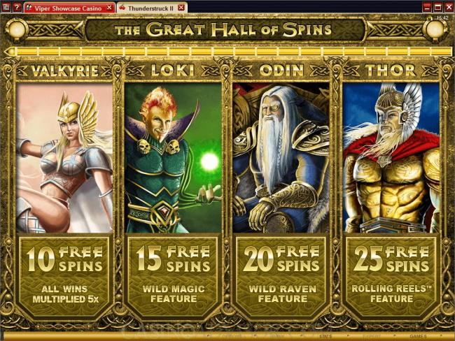 Bonus and Free Spins