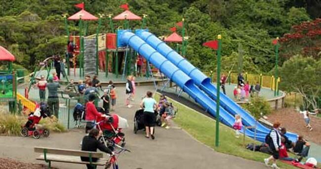 Botanic Garden Playground, Wellington