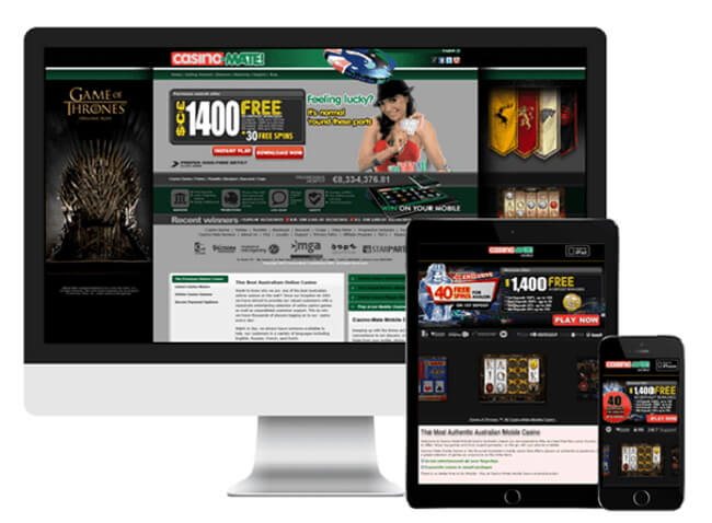 Casino-Mate Mobile Play